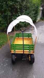 Large child wagon with shade cover London Ontario image 2