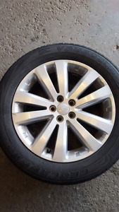 Sailun Winter Tires on Rims