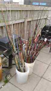 100s of vintage rod and reel collection