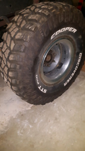 """15"""" Chevy rally wheels with 35s"""