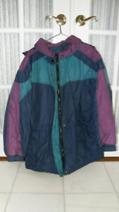 WOMEN'S 3-COLOUR WINTER JACKET SIZE MEDIUM