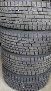 4 Winter tires and rims 205/55/r16 5-108 5-100 bolt Kitchener / Waterloo Kitchener Area image 7