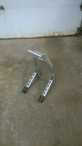 Front fork motorcycle race stand