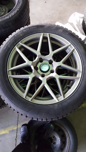 17in alloy wheels with Hankook I pike tires