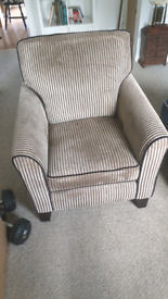 SOLD - FREE Armchair in good condition with all fire safety labels