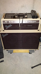 Super Sonic Fender Head and Cabinet  (blond)