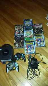 game cube 2 manette memory + 7 jeux