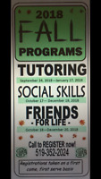 TUTORS WANTED ON THURSDAY AFTERNOONS!