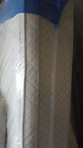 Double size pillow top mattress and box spring 250.00, VERY CLEA