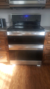 Kenmore elite double oven electric stove