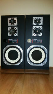 Fisher STV-870 speakers 100W RMS