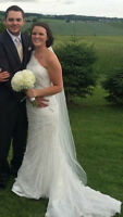 Maggie Sotterro Wedding Dress - $650.00