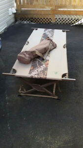 Camping bed for sale