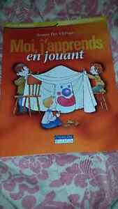 Selling ECE books in french