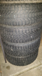 215/60R15 Winter Tires