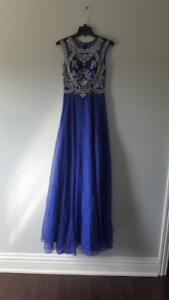 Royal Blue prom dress from Monique's
