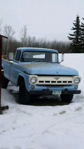 1957 ford f350 2wd for sale or trade $5000 obo