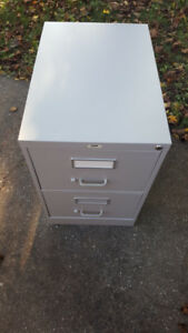 File Cabinet Safe with key 2 drawer
