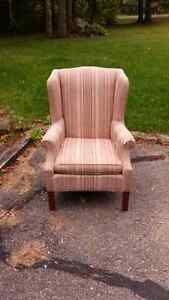 Wing back chair Peterborough Peterborough Area image 1
