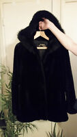 Novelti adorable junior faux fur winter coat/jacket