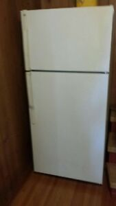 very clean fridge and freezer