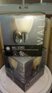Brand new wall sconce set of 2! Only $25 for both!