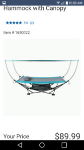 2 Fold Away Hammocks