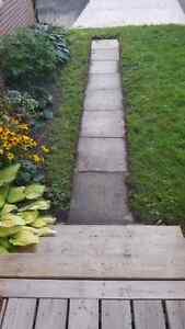 WANTED! 2' × 2' concrete patio stones (approx. 8)