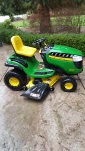 "John Deere D140 Lawn Mower 22HP 48"""