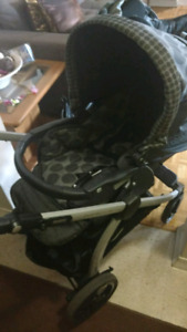 Peg perrego stroller and car seat