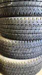 LT 275/65 R18  four Michelin all season tires with 80%!  Kitchener / Waterloo Kitchener Area image 1