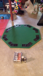 POKER & BLACKJACK TABLE TOP
