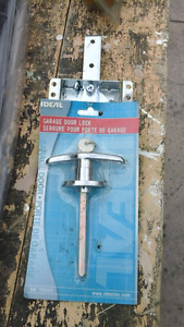 Garage door lock new