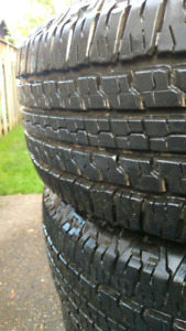 Selling truck tires