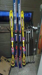 mountain skis / ski alpin