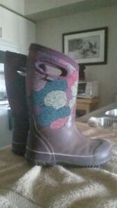 GIRLS WINTER BOG BOOTS