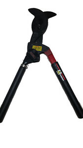 """RATCHING CABLE CUTTER 3""""CAPACITY COOPER TOOLS"""