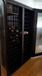 Wine Cabinet 250 bottles, temperature controlled, beautiful