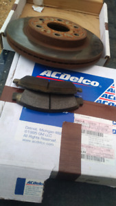 Front rotors and pads for votec-max