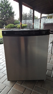 Kenmore Stainless Steel Dishwasher - Perfect Condition