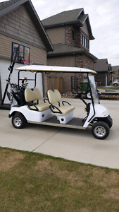Crew cab  Golf Cart