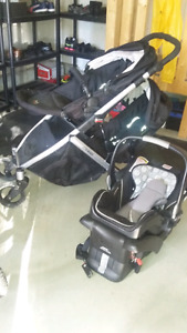 Britax B-Ready with 2nd seat and carseat