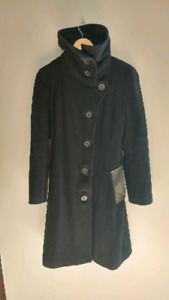 Mackage wool and leather coat