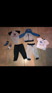 Gymboree Airplane 18-24 month set eeeuc worn twice.
