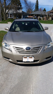 2007 Toyota Camry with 2 year factory warrenty