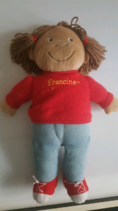 Francine from Arthur soft toy doll
