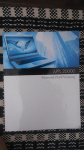 APPL 20000 Advanced Word Processing Textbook