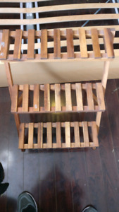 Step shelving for flower pots or display