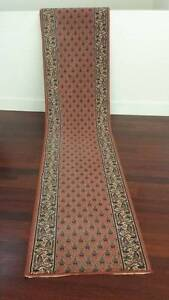 Salmon runners (65 x 360 cm/300 cm) - 2 available $95 and $85 Lilyfield Leichhardt Area Preview