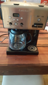 Cuisinart - 12 Cup Programmable Coffeemaker and Hot Water